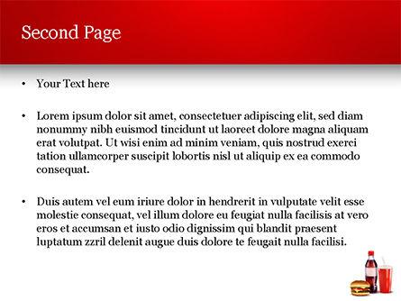 Fast Food Menu PowerPoint Template, Slide 2, 15018, Food & Beverage — PoweredTemplate.com