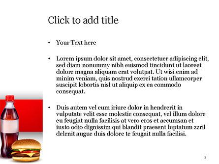 Fast Food Menu PowerPoint Template, Slide 3, 15018, Food & Beverage — PoweredTemplate.com