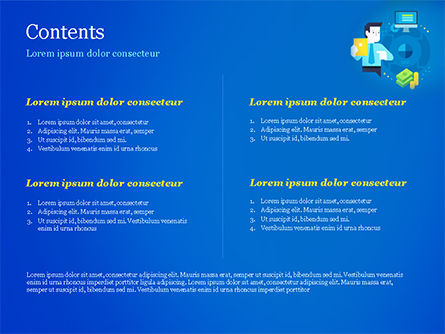 Performance-Based Marketing Concept PowerPoint Template, Slide 2, 15046, Business Concepts — PoweredTemplate.com