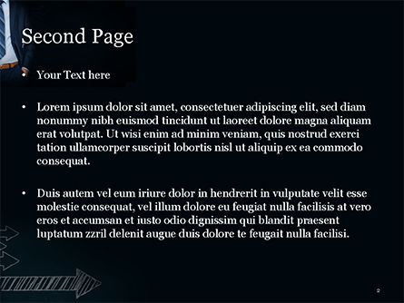 Opinion Leader PowerPoint Template, Slide 2, 15050, Business Concepts — PoweredTemplate.com