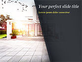 Construction: Stijlvol Modern Huis PowerPoint Template #15056