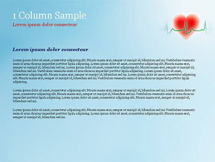 Cardiologist PowerPoint Template, Slide 4, 15064, Medical — PoweredTemplate.com