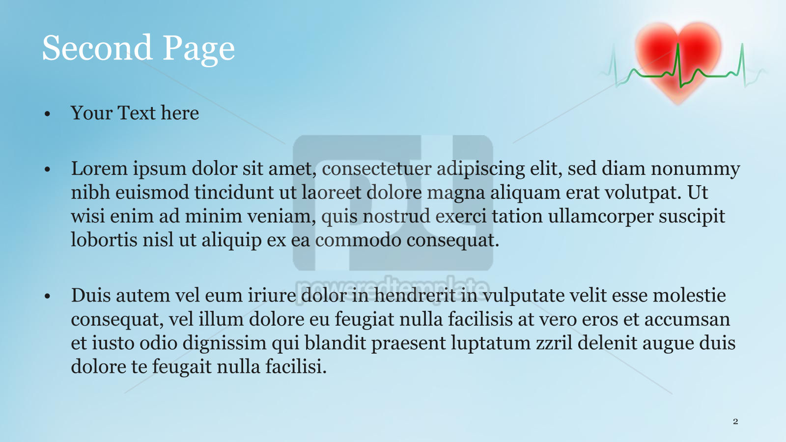 Cardiologist PowerPoint Template, Slide 2, 15064, Medical — PoweredTemplate.com