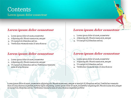 Flight to Profit PowerPoint Template, Slide 2, 15066, Business Concepts — PoweredTemplate.com