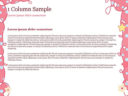Pink Greeting Card PowerPoint Template, Slide 4, 15067, Holiday/Special Occasion — PoweredTemplate.com