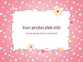 Holiday/Special Occasion: Modèle PowerPoint de carte de voeux rose #15067