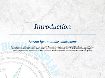 Business Plan Compass Concept PowerPoint Template, Slide 3, 15082, Business Concepts — PoweredTemplate.com