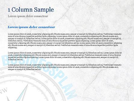 Business Plan Compass Concept PowerPoint Template, Slide 4, 15082, Business Concepts — PoweredTemplate.com