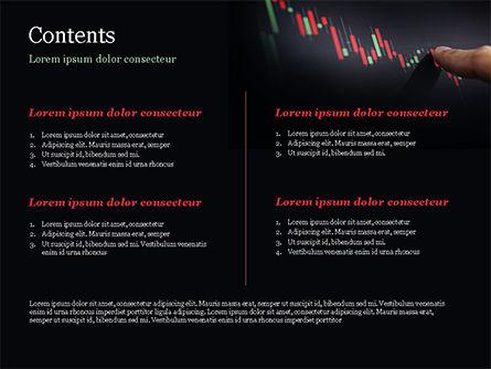 Candlestick Chart PowerPoint Template, Slide 2, 15086, Business Concepts — PoweredTemplate.com