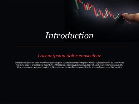 Candlestick Chart PowerPoint Template, Slide 3, 15086, Business Concepts — PoweredTemplate.com