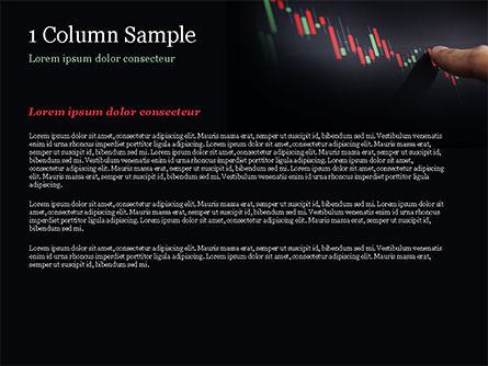 Candlestick Chart PowerPoint Template, Slide 4, 15086, Business Concepts — PoweredTemplate.com