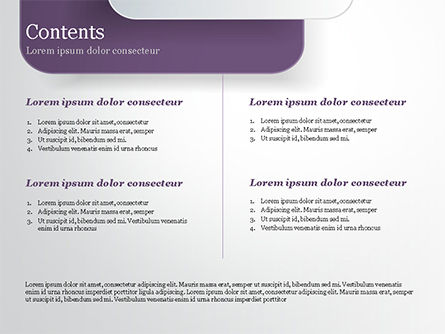 Rounded Rectangles PowerPoint Template, Slide 2, 15091, Abstract/Textures — PoweredTemplate.com