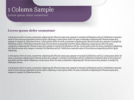 Rounded Rectangles PowerPoint Template, Slide 4, 15091, Abstract/Textures — PoweredTemplate.com