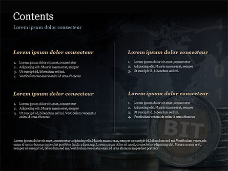 BIT PowerPoint Template, Slide 2, 15092, Technology and Science — PoweredTemplate.com