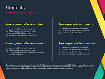 Bright Lines on Dark Background PowerPoint Template, Slide 2, 15096, Abstract/Textures — PoweredTemplate.com