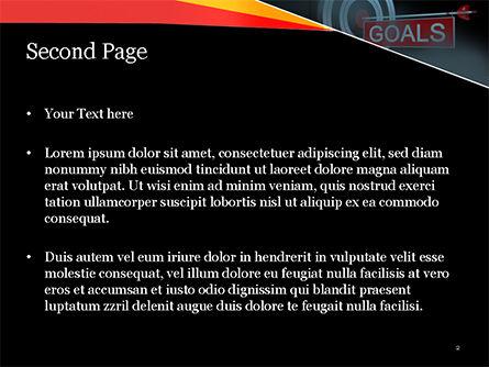 Goals PowerPoint Template, Slide 2, 15124, Business Concepts — PoweredTemplate.com