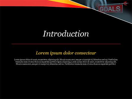 Goals PowerPoint Template, Slide 3, 15124, Business Concepts — PoweredTemplate.com