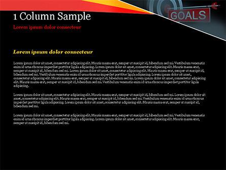 Goals PowerPoint Template, Slide 4, 15124, Business Concepts — PoweredTemplate.com