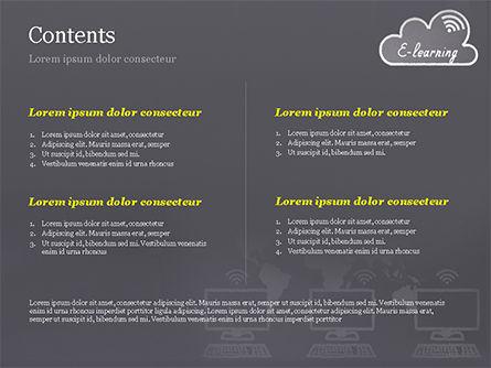 E-Learning PowerPoint Template, Slide 2, 15126, Education & Training — PoweredTemplate.com