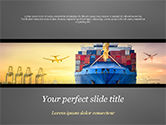 Careers/Industry: Shipping and Freight Forwarding PowerPoint Template #15132