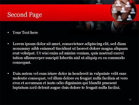 Focus Group PowerPoint Template, Slide 2, 15137, Careers/Industry — PoweredTemplate.com