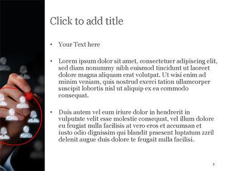 Focus Group PowerPoint Template, Slide 3, 15137, Careers/Industry — PoweredTemplate.com