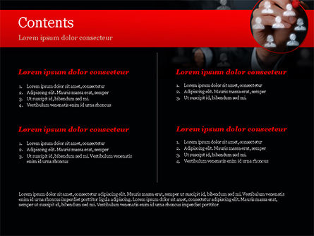 Focus Group PowerPoint Template, Slide 2, 15137, Careers/Industry — PoweredTemplate.com