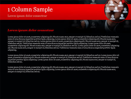 Focus Group PowerPoint Template, Slide 4, 15137, Careers/Industry — PoweredTemplate.com