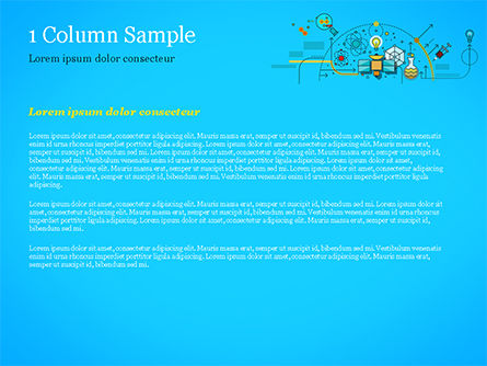 Chemical Experiments Concept PowerPoint Template, Slide 4, 15144, Technology and Science — PoweredTemplate.com