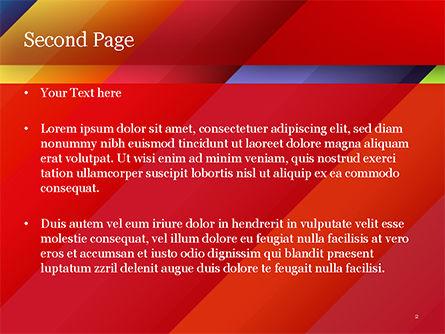 Joyful Abstraction PowerPoint Template, Slide 2, 15146, Abstract/Textures — PoweredTemplate.com