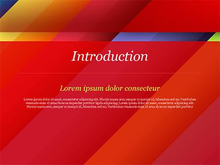 Joyful Abstraction PowerPoint Template, Slide 3, 15146, Abstract/Textures — PoweredTemplate.com