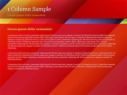 Joyful Abstraction PowerPoint Template, Slide 4, 15146, Abstract/Textures — PoweredTemplate.com