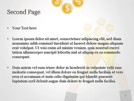 Concept of Creation Successful Project PowerPoint Template, Slide 2, 15149, Business Concepts — PoweredTemplate.com
