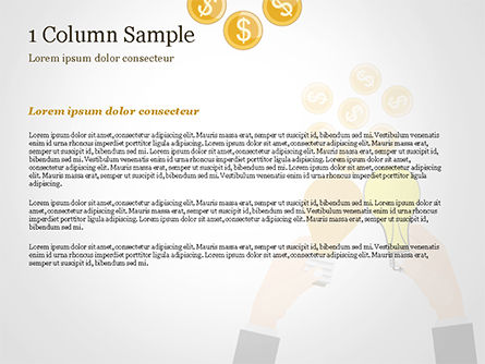 Concept of Creation Successful Project PowerPoint Template, Slide 4, 15149, Business Concepts — PoweredTemplate.com