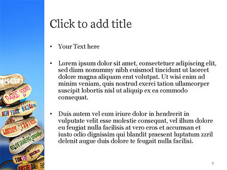 Leisure and Travel PowerPoint Template, Slide 3, 15150, Careers/Industry — PoweredTemplate.com