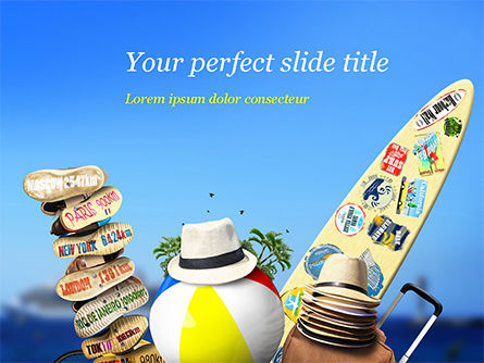 Careers/Industry: Leisure and Travel PowerPoint Template #15150