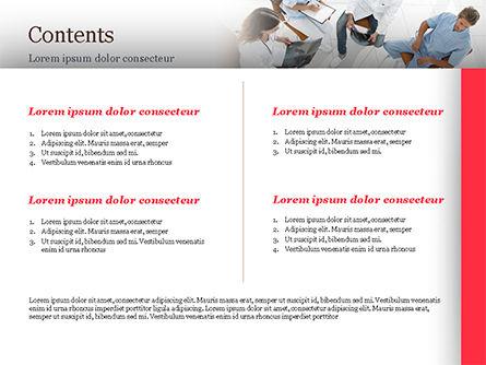 Doctors Meeting PowerPoint Template, Slide 2, 15151, Medical — PoweredTemplate.com