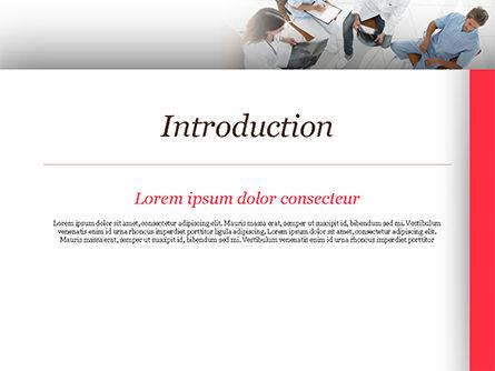 Doctors Meeting PowerPoint Template, Slide 3, 15151, Medical — PoweredTemplate.com
