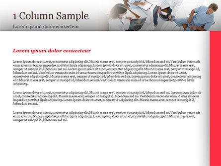 Doctors Meeting PowerPoint Template, Slide 4, 15151, Medical — PoweredTemplate.com