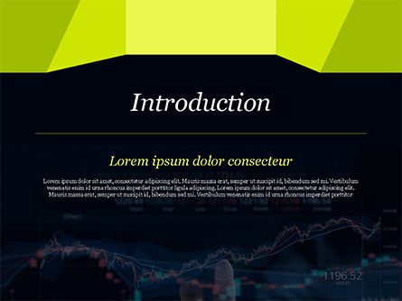 Trading Graph PowerPoint Template, Slide 3, 15152, Financial/Accounting — PoweredTemplate.com