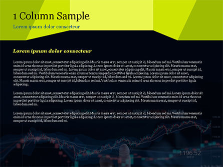Trading Graph PowerPoint Template, Slide 4, 15152, Financial/Accounting — PoweredTemplate.com