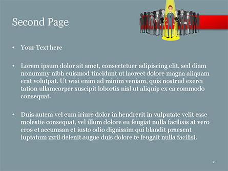 Choosing Worker PowerPoint Template, Slide 2, 15154, Careers/Industry — PoweredTemplate.com