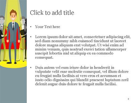 Choosing Worker PowerPoint Template, Slide 3, 15154, Careers/Industry — PoweredTemplate.com