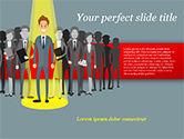 Careers/Industry: Modello PowerPoint - Scelta dell'operaio #15154