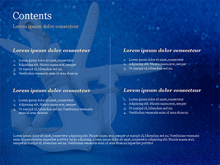 Anchor and Starfish PowerPoint Template, Slide 2, 15155, Holiday/Special Occasion — PoweredTemplate.com