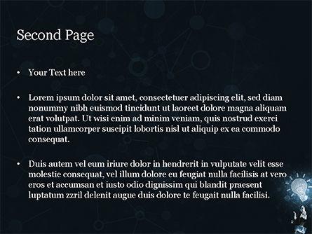 Blockchain Project Idea PowerPoint Template, Slide 2, 15156, Technology and Science — PoweredTemplate.com