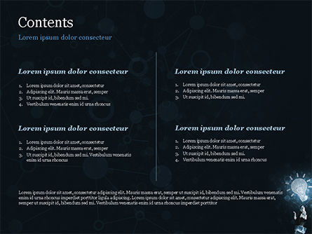 Blockchain Project Idea PowerPoint Template, Slide 2, 15156, Technology and Science — PoweredTemplate.com