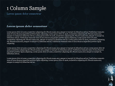 Blockchain Project Idea PowerPoint Template, Slide 4, 15156, Technology and Science — PoweredTemplate.com