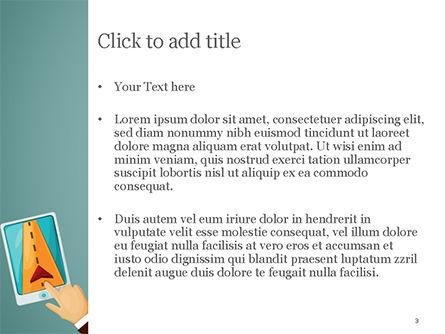 Navigator Illustration PowerPoint Template, Slide 3, 15158, Technology and Science — PoweredTemplate.com