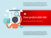 Education & Training: Information Search Illustration PowerPoint Template #15161